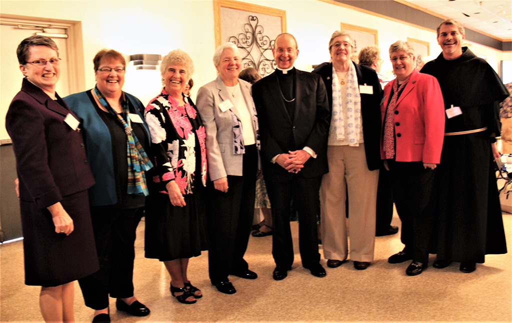 Provincial Council with Archbishop Lori