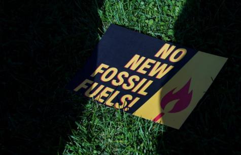 no new fossil fuels