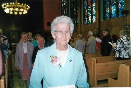 Sister Bernice Volk, SSND