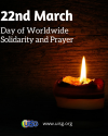 March 22: A Day of Worldwide Solidarity and Prayer