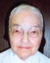 Sister M Jean Francis Stenger
